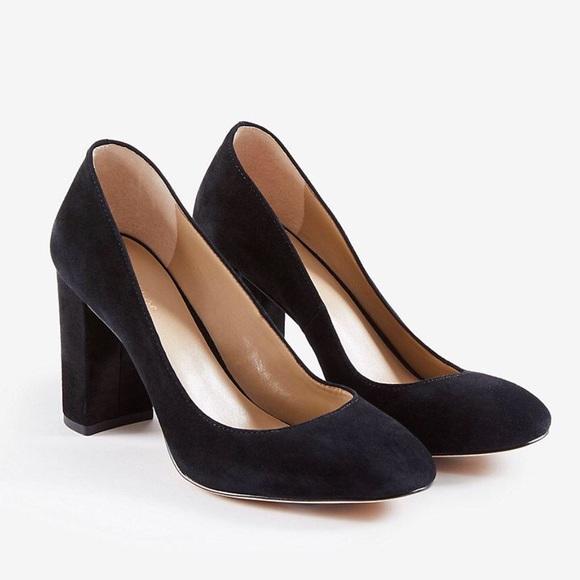 9970590065f Ann Taylor Shoes - ANN TAYLOR Emeline Suede Block Heels
